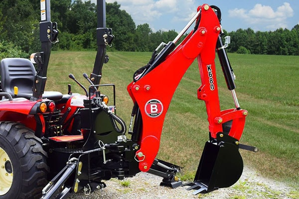 Branson Backhoe Attachments For Deep Digging Through