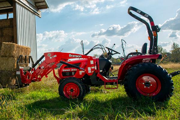 Branson Tractors, Attachments, & Implements For Tough Jobs