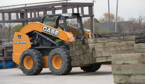 Case Wheeled Skid Steer Cover