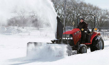 CaseIH LoaderAttach SnowBlowers