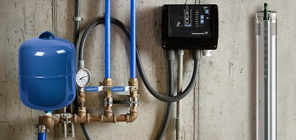 grundfos residential water pumps