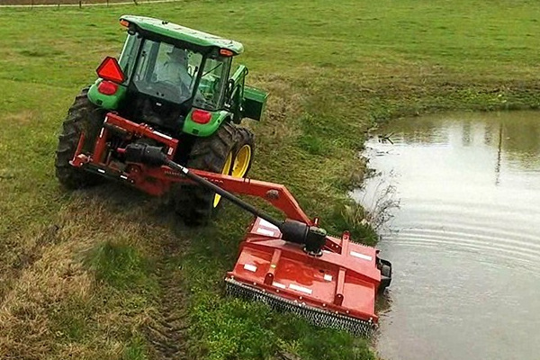 Rhino Agriculture Equipment To Cut Grass & Collect Hay