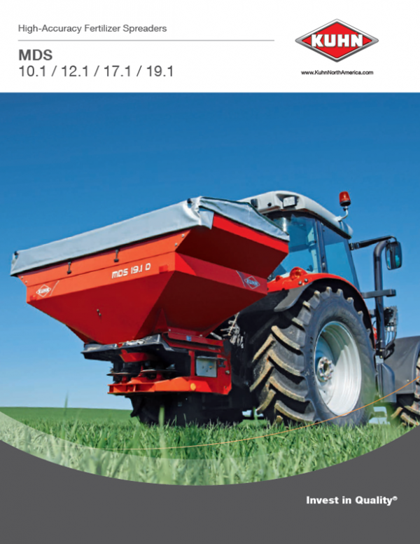 High-Accuracy Fertilizer Spreaders