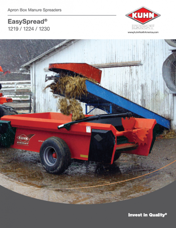 Apron Box Manure Spreaders - EasySpread